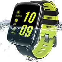YAMAY Bluetooth Smartwatch mit Pulsmesser