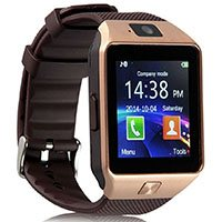 Tkstar DZ09 Sport Bluetooth Smartwatch Gold