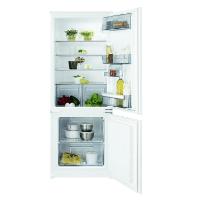 AEG SCB51421LS Einbau Kühl-Gefrier-Kombination mit Gefrierteil unten / 160 Liter Kühlschrank / 57 Liter Gefrierschrank / Kühlschrank mit schnell abtaubarem Gefrierfach / A++ (204 kWh/Jahr) / Einbau-Höhe: 144,6 cm / weiß [Energieklasse A++]