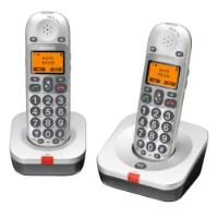 AUDIOLINE BigTel 202 Schnurlostelefon