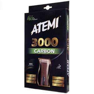 Der Atemi Pro Tischtennisschläger Carbon 3000 wurde auf Platz 9 gewählt.