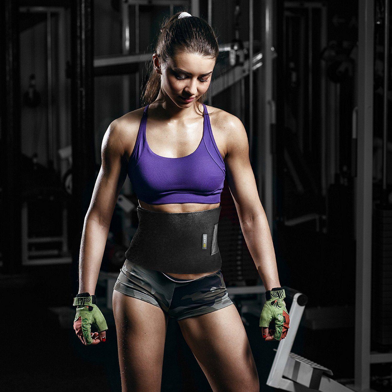Bauchweggürtel Bauch Gürtel Fitness Schwitzgürtel Thermogürtel Mieder HOT