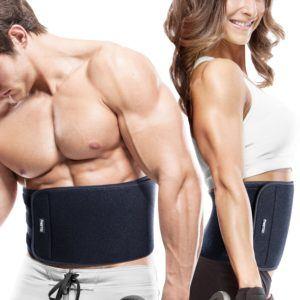 Bauchweggürtel FREETOO Hot Belt Rückenbandage für Damen und Herren