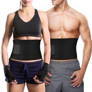 Bauchweggürtel TOPELEK Hot Belt Rückenbandage für Damen und Herren