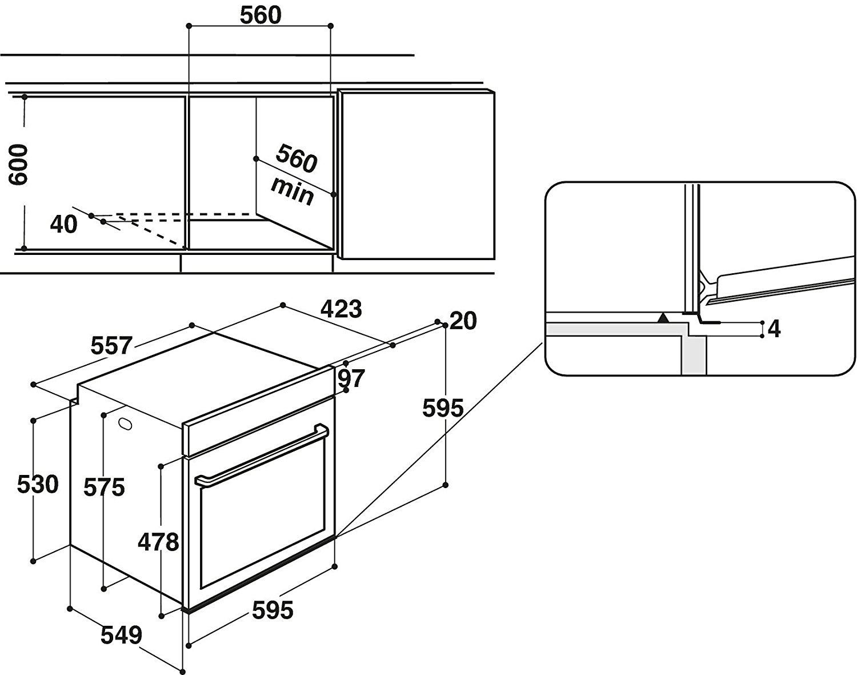 bauknecht bar2 kn5v2 in backofen elektro. Black Bedroom Furniture Sets. Home Design Ideas