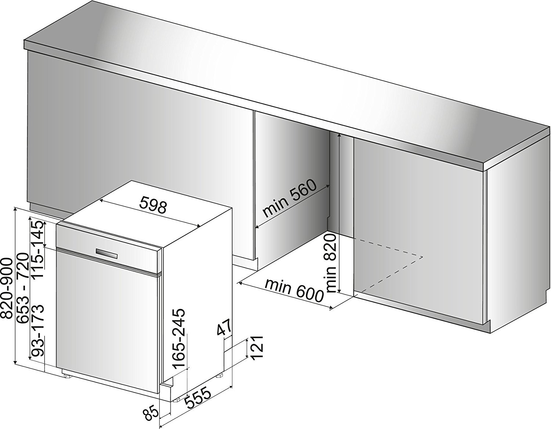 bbe 2b19x a geschirrsp ler von bauknecht energieklasse a. Black Bedroom Furniture Sets. Home Design Ideas
