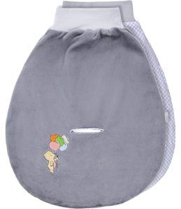 Be Mammy Baby Pucksack BE20-137 (Grau2094_03 - Bär)