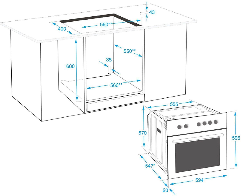 beko bim22301x backofen elektro 71 l im test 2018 alle vor und nachteile alternativen. Black Bedroom Furniture Sets. Home Design Ideas