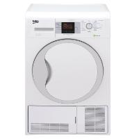 Beko DPU 7306 XE Wärmepumpentrockner / A+++ / 7kg / Weiß / FlexySense Feuchtigkeitssensor / Trommelbeleuchtung / Automatischer Knitterschutz / Reversierende Trommelbewegungen [Energieklasse A+++]