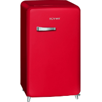 Bomann KSR 350 Kühlschrank, A++, Retro-Design, Kühlen 108 L, Gefrieren 13 L [Energieklasse A++]