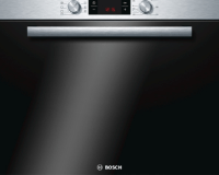 Bosch HBA33B150 Serie 6 Einbaubackofen / A / 66 L / Edelstahl / 3D Heißluft Plus [Energieklasse A]
