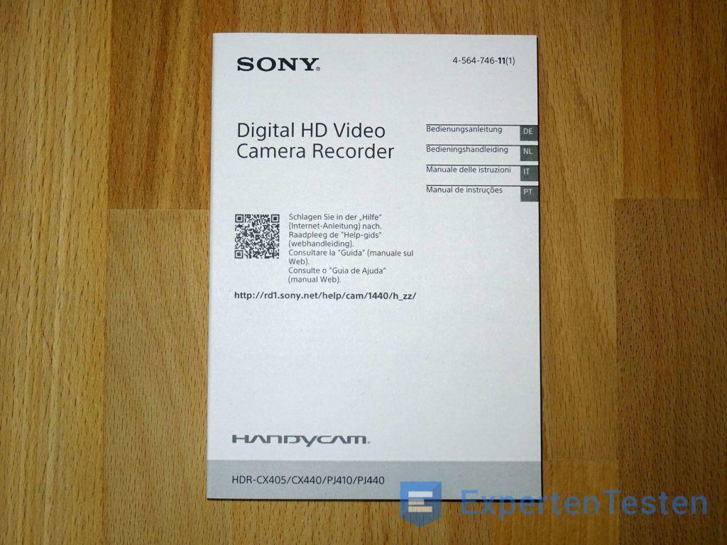Camcorder Sony3