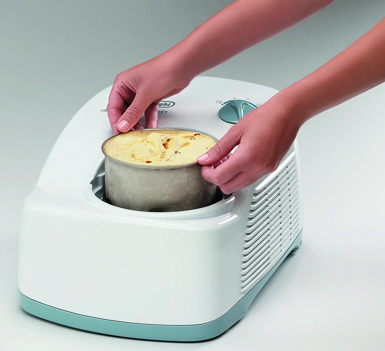 DeLonghi ICK 5000 Eiscremeautomat, Kompressor, weiß 2