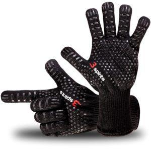 Designer Finger Backhandschuhe, Grillhandschuhe