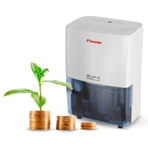 EVA II PRO WI-FI Luftentfeuchter 20L Tag mit Ionisator, WLAN Technologie, Wäschetrockner & intelligenter Entfeuchtung mit geringem Energieverbrauch