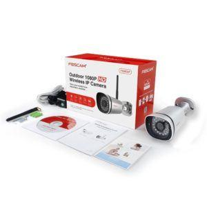 Überwachungskamera Foscam FI9900P IP mit Verpackung