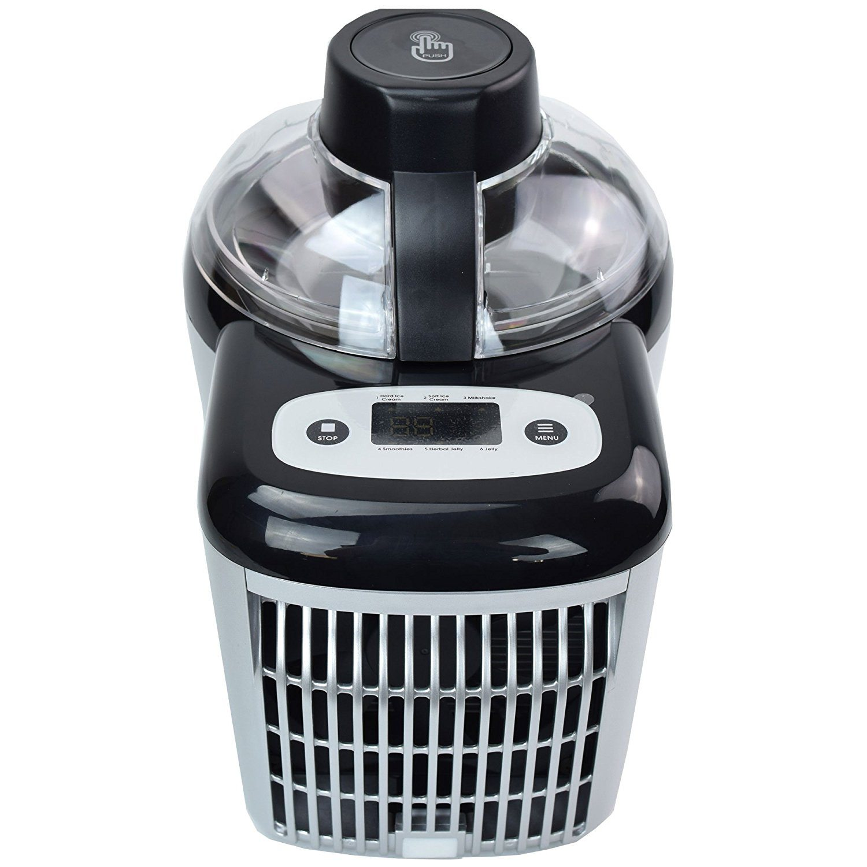 Gino Gelati GG-90W Selbstkühlende, Extrem leichte und Stromsparende Eismaschine 3