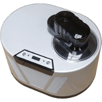 Gino Gelati IC-150W-BS Eismaschine mit Kompressor-Frozen Yogurt-Milchshake Maschine-Flaschenkühler im Vergleich