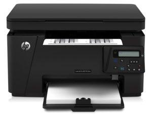 HP LaserJet Pro M125nw Laserdrucker Multifunktionsgerät (Drucker, Scanner, Kopierer, WLAN, LAN, HP ePrint, Apple Airprint, 600 x 600 dpi) schwarz