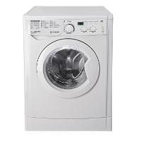 Indesit EWD 61483 W DE Waschmaschine FL / 153 kWh / 1400 UpM / 6 kg / 8643 Liter / MyTime, Schneller als 1 Stunde / Inverter-Motor / leise nur 54 db / Wasserstopp / weiß [Energieklasse A+++]