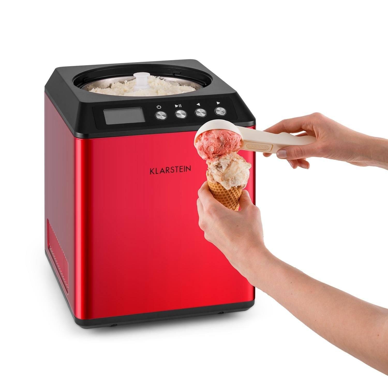 Klarstein Vanilla Sky Eismaschine 180 W • 2 L Fassungsvermögen 2