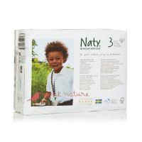 Naty-von-Natur-Babycare-ECO-Windeln---Größe-3,-4-x-Packungen-mit-31-(124-Windeln)
