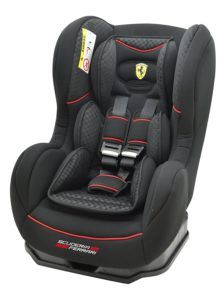 Osann Kinderautositz Cosmo SP Ferrari Gran Tourismo schwarz carbon