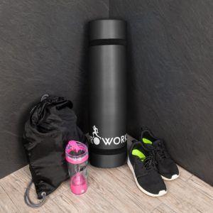 Proworks Große Premium Yogamatte Gepolstert & Rutschfest Fitness