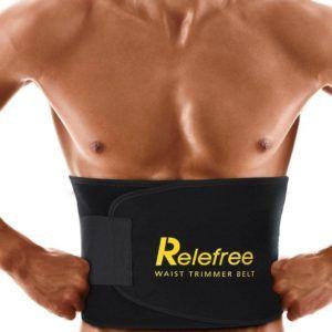 Relefree Slimmer belt Bauchweggürtel Atmungsaktiv für Gewichtsverlust Bodybuilding für Herren Damen
