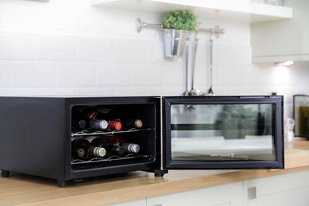 Mini Kühlschrank Für Flaschen : Russell hobbs rh wc minikühlschrank im test expertentesten