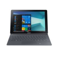 Samsung Galaxy Book W627 26,92 cm (10,6 Zoll) Convertible Tablet PC (Intel Core m3 7Y30, 4GB RAM, 64GB HDD, Windows 10 Home) silber
