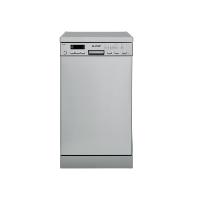 Sharp QW-S22F472I-DE Geschirrspüler 45 cm / A++ / 211 kWh/Jahr / 10 MGD / Freistehender / Effizienz, Hohe Flexibilität und praktische Funktionen / Edelstahl [Energieklasse A++]