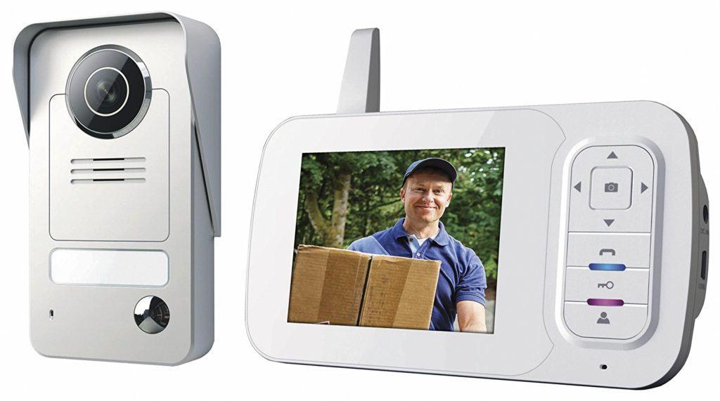 Smartwares Drahtlose Videot%C3%BCrsprechanlage Mit Nachtsichtfunktion Und Bildaufnahme