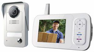 Smartwares Drahtlose Videotürsprechanlage mit Nachtsichtfunktion und Bildaufnahme