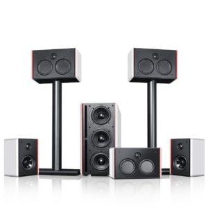 Teufel System 4 THX Compact 5.1-Set Cinema - 5.1-Lautsprecher-Set mit THX Compact Speaker System-Lizenz