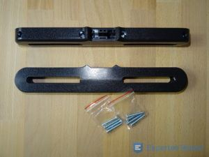 Tragbarer DVD Player Befestigungsmaterial im Detail