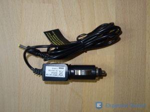 Tragbarer DVD Player Stromanschluss für KFZ im Detail
