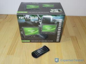 Tragbarer DVD Player von Muse in der Verpackung