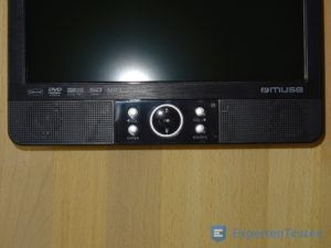 Tragbarer DVD Player Bedienelemente im Detail