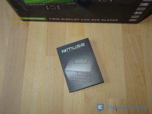 Tragbarer DVD Player mit Bedienungsanleitung