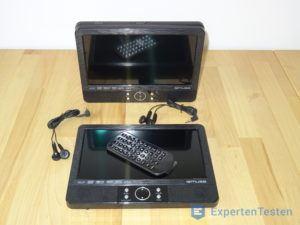 Tragbarer DVD Player mit Zubehör
