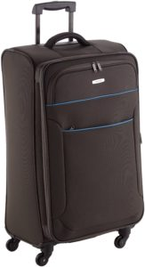 Travelite Valise trolley Derby avec 4 roues Taille L anthracite Koffer, 77 cm, 84 liters, Schwarz (Anthracite)