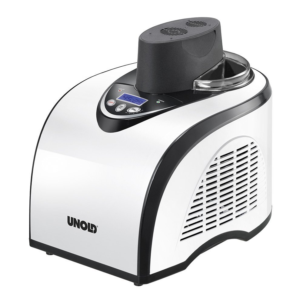 UNOLD Eismaschine Polar, mit Kompressor, 1 Liter Eiscreme, 48840