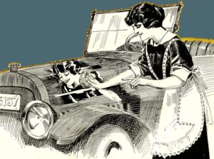 Auto Waschen Vintage