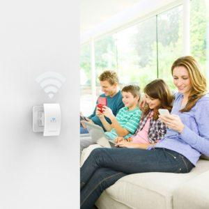 dodocool Wlan Repeater Wlan Access Point AP 2 interne Antennen N300 Mini Wireless Repeate