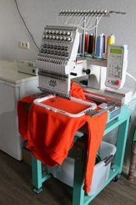 Sticken Fabrikation 1