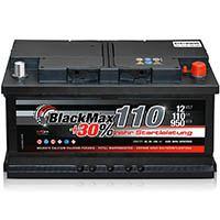 BlackMax 12 V 110 Ah 950A/EN