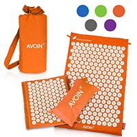 AVOIN colorlife Yogamatte - Akupressurmatte 2pcs Set