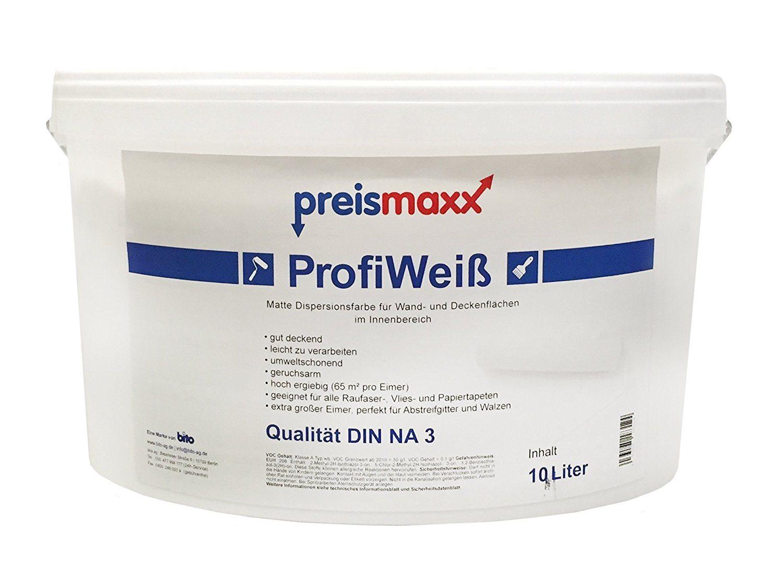 ProfiWeiß Wandfarbe Preismaxx