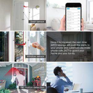Digoo DG-HOSA Smart Home Security Alarmanlage